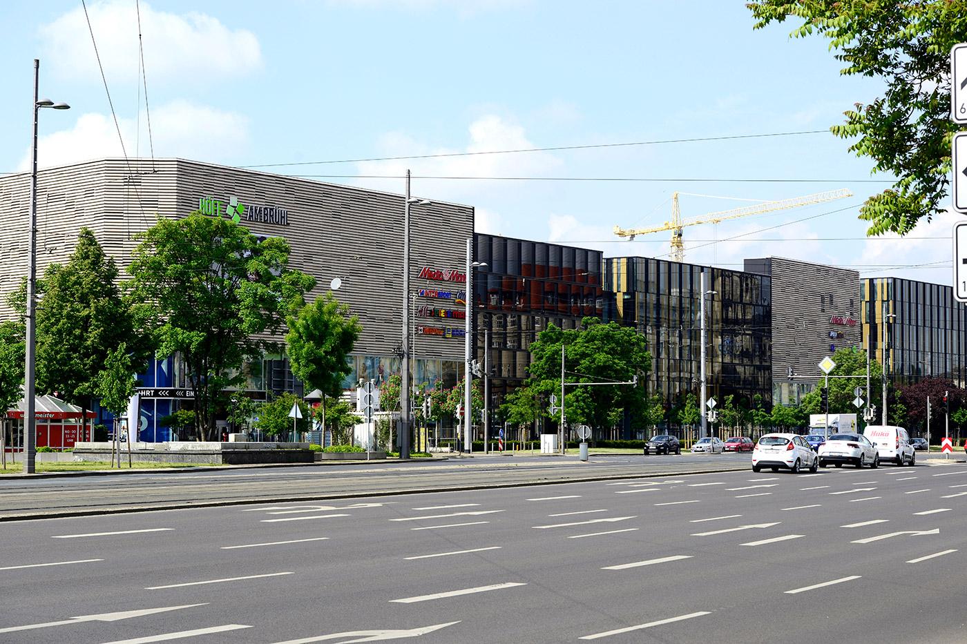 Höfe am Brühl - Referenzen - Beck Trockenbau GmbH