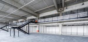 Logistikzentrum Clinton - Referenzen - Beck Trockenbau GmbH