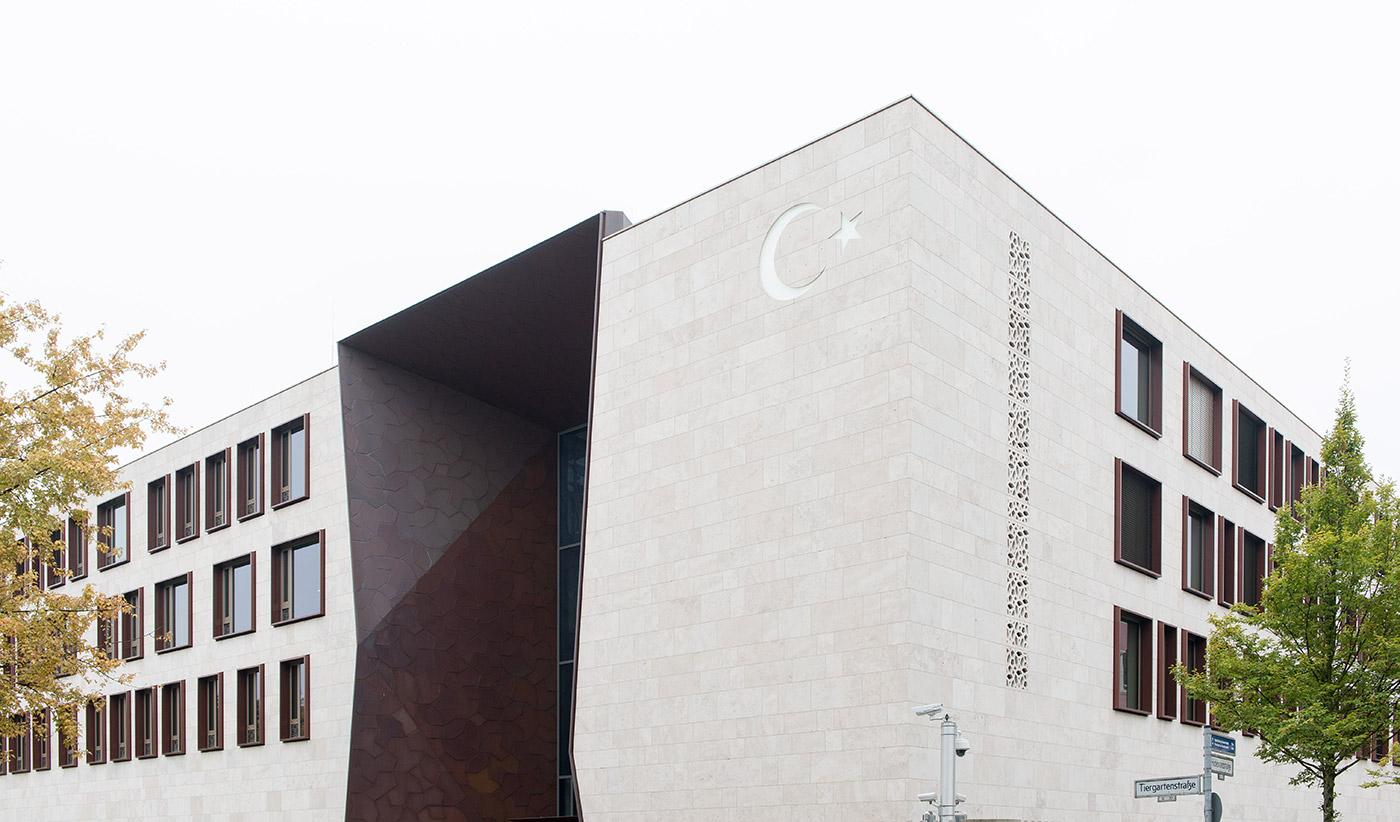 Türkische Botschaft - Referenzen - Beck Trockenbau GmbH