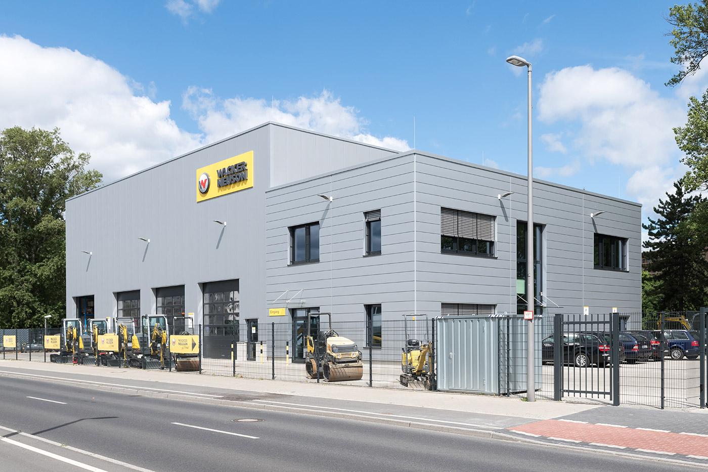 Wacker Neuson - Referenzen - Beck Trockenbau GmbH